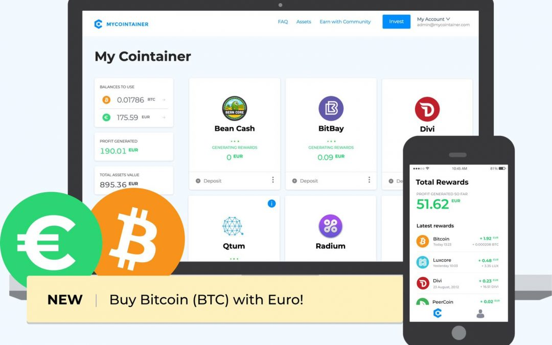MyCointainer kicks off PoS platform to make cryptoeconomy more accessible
